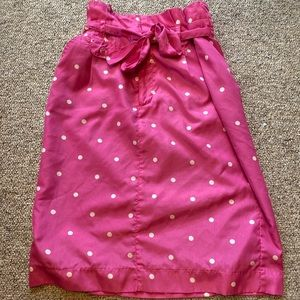 Pink Polka Dot DownEast Skirt